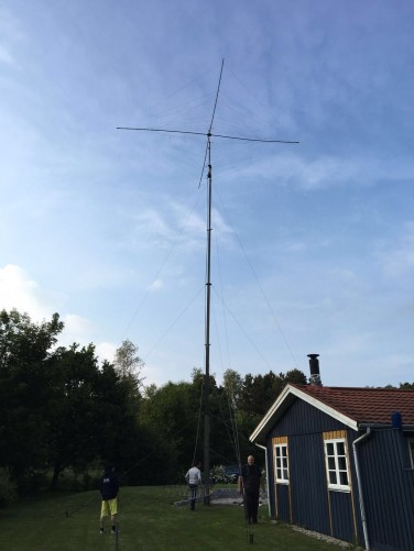 5-band spiderbeam op 19m